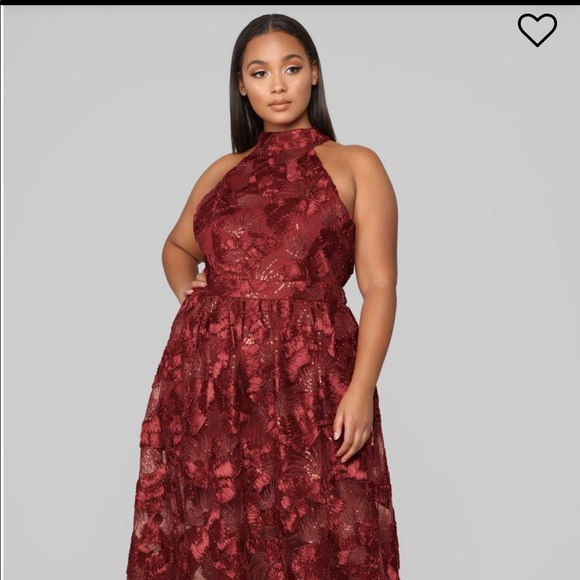 52d004e8656 Fashion nova Plus size ball gown